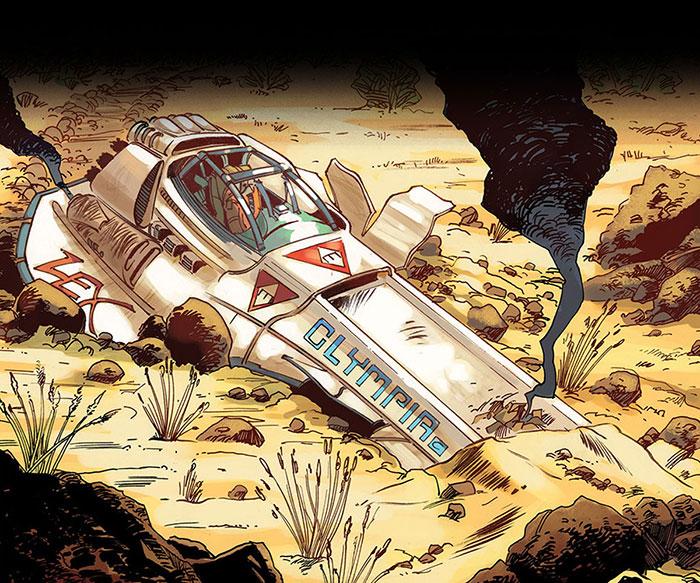 la prima immagine della navicella di Futura