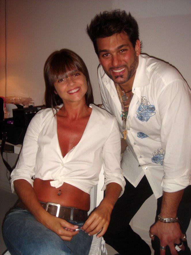 Araceli Gonzales y Leonardo Rocco
