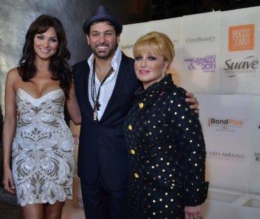 Blanca, Angelica Maria y Leonardo Rocco