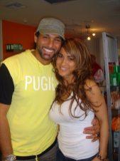 Jackie Guerrido y Leonardo Rocco
