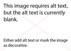 Questa immagine richiede un testo alt, ma campo alt è al momento vuoto. Aggiungere un testo alt o impostare l'immagine come decorativa.