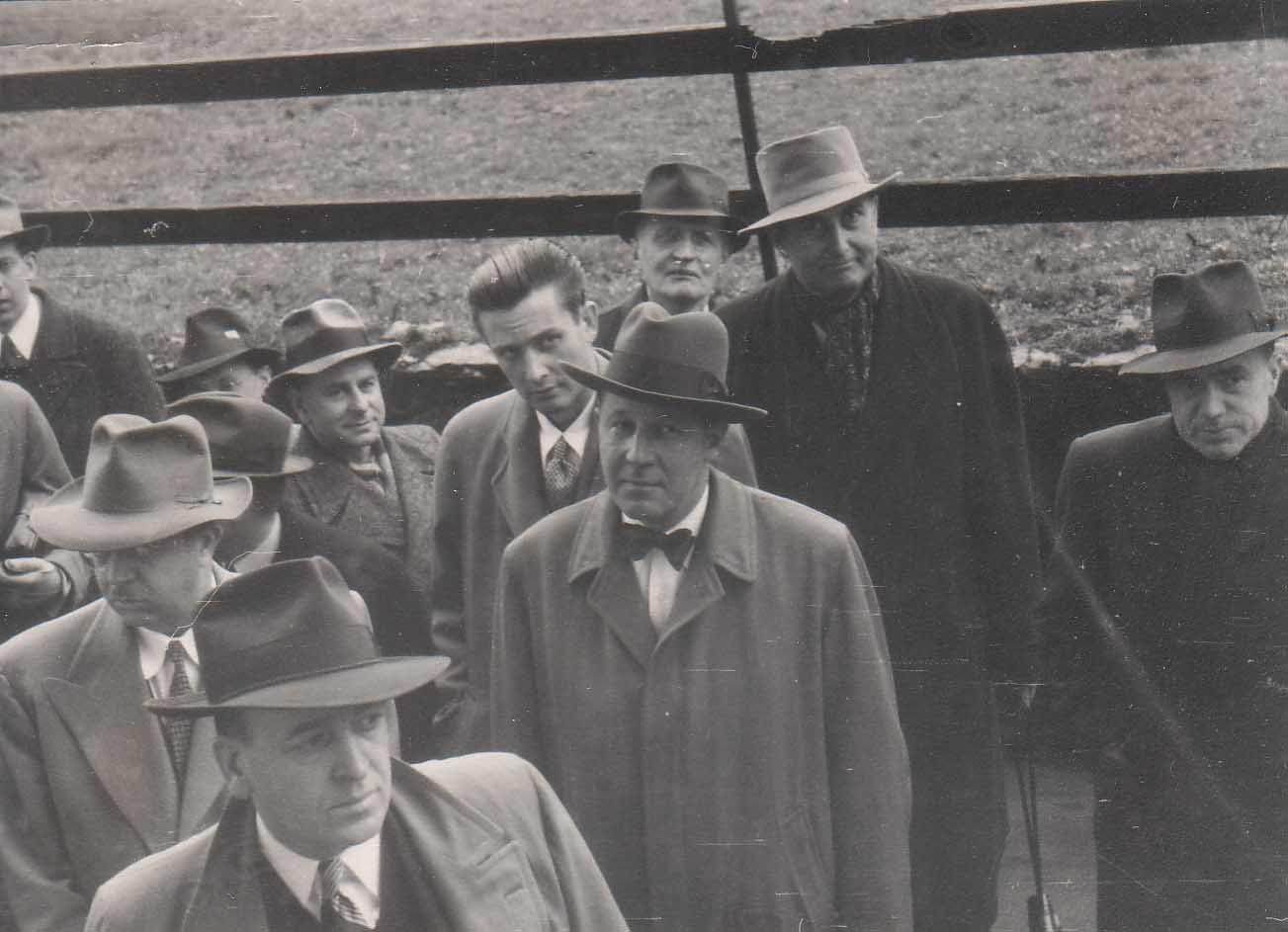 Read (center) at Mont Pelerin Society