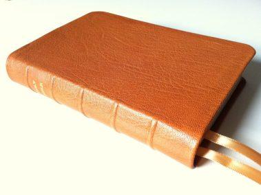 British Tan Sokoto Goatskin Bible