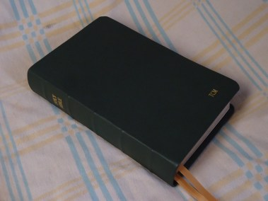 Forest Soft-Tanned Goatskin Bible
