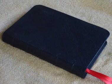 Navy Sokoto Goatskin Bible