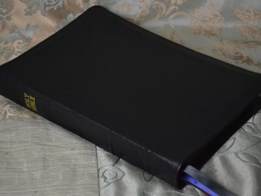 Black River Grain Goatskin Bible