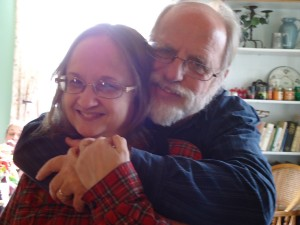 Margie and Eric Haley, Christmas 2015