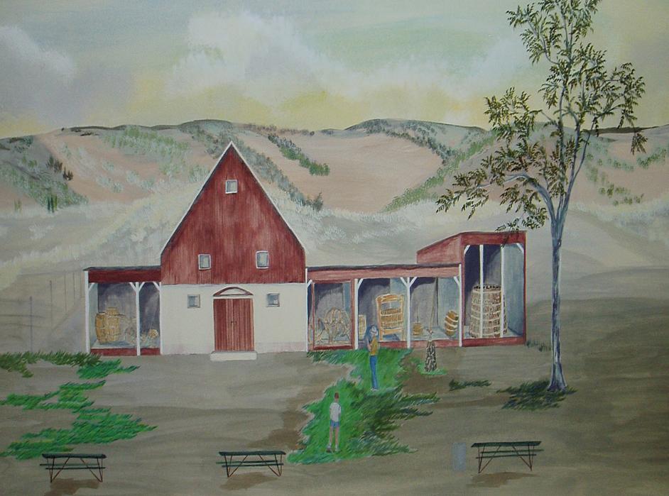 Painting-Heritage Park Museum