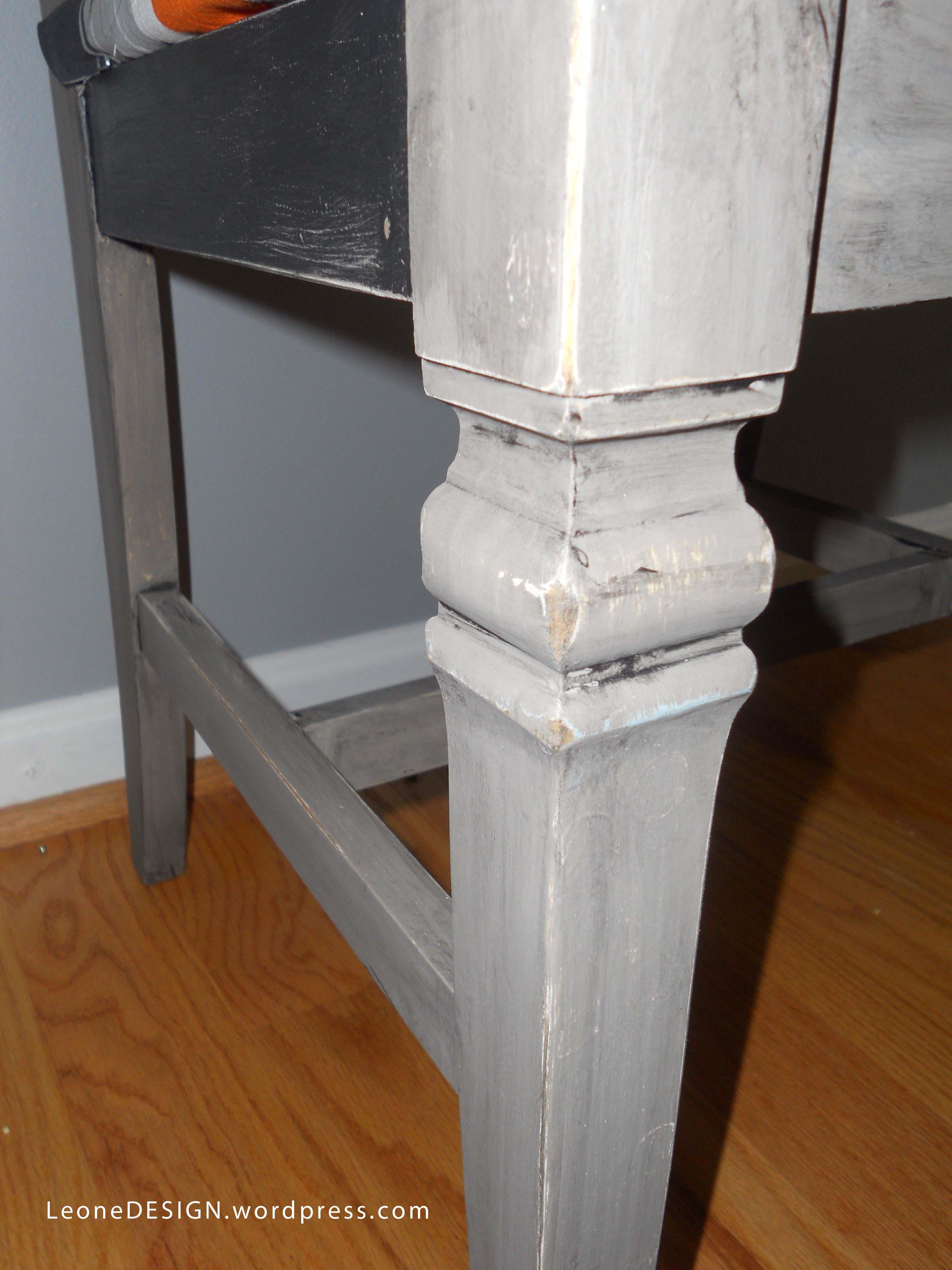 chair leg design container store desk defiant coco martha leone