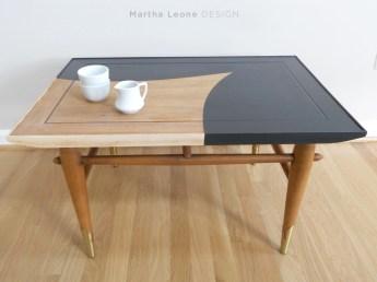 MCM side table. Martha Leone Design