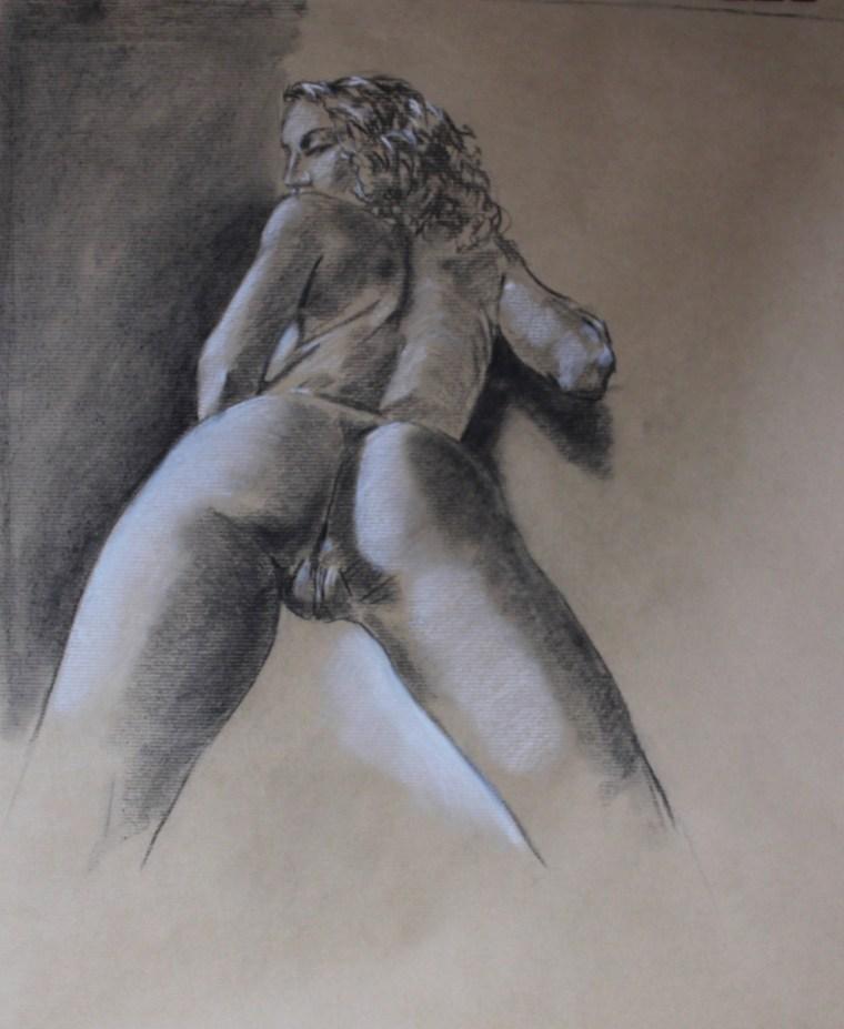 nude nude girl erotic art artistic nude drawing
