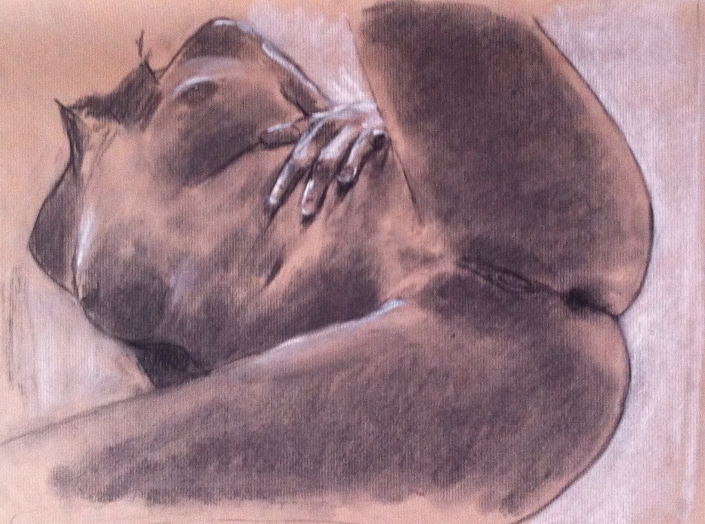 nude girl drawing provoke exhibits
