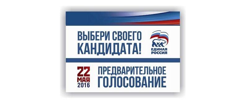 Участвую в праймериз ЕР 22 мая 2016 года