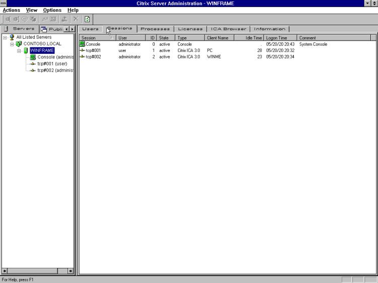 Citrix Server Administration