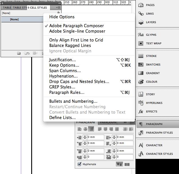 palettes screenshot