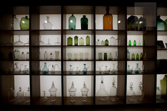 glass bottles, the wellcome collection