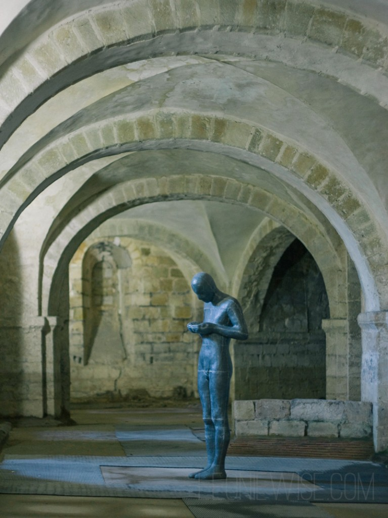 SOUND II - antony gormley 1986 - winchester cathedral