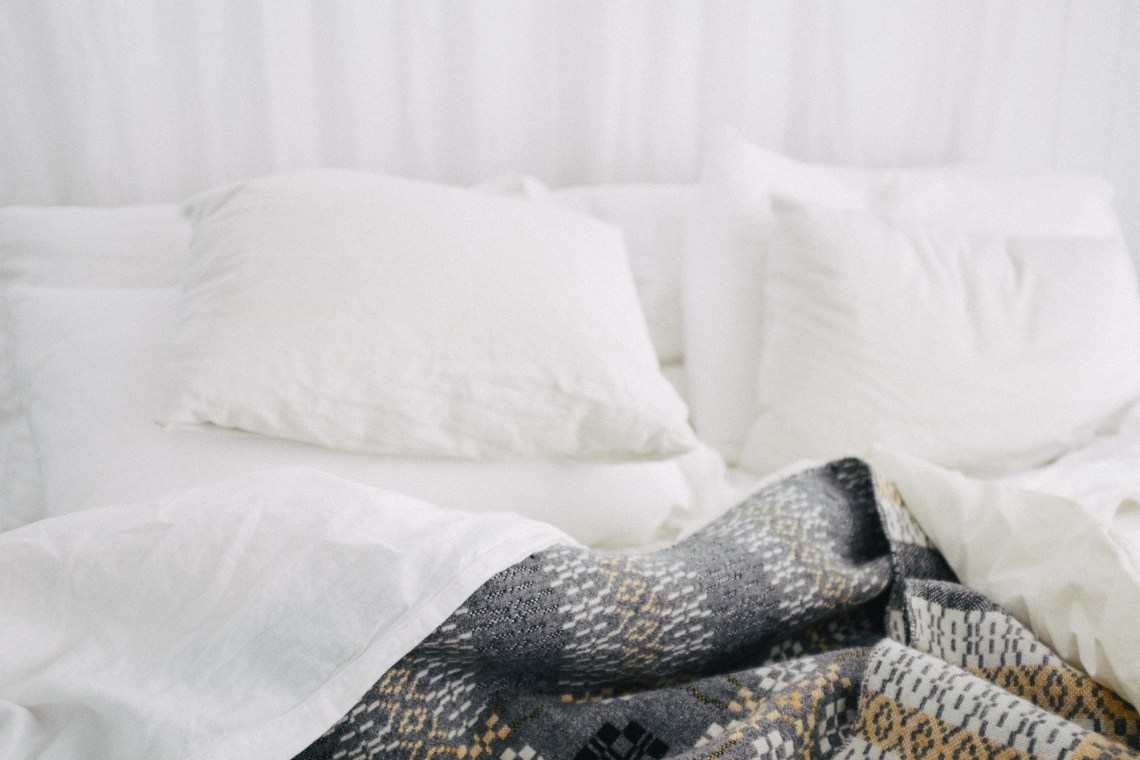 unmade bed by leonie wise