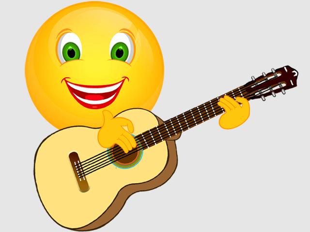 Musikinstrumente  Cliparts