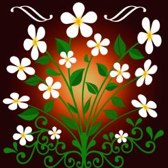 Blumen – Ornament 10