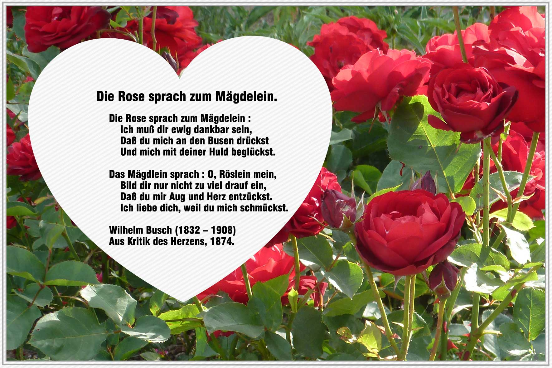 Wilhelm Busch  Gedichte