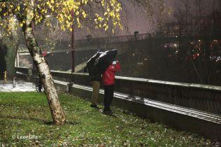Llueve en León