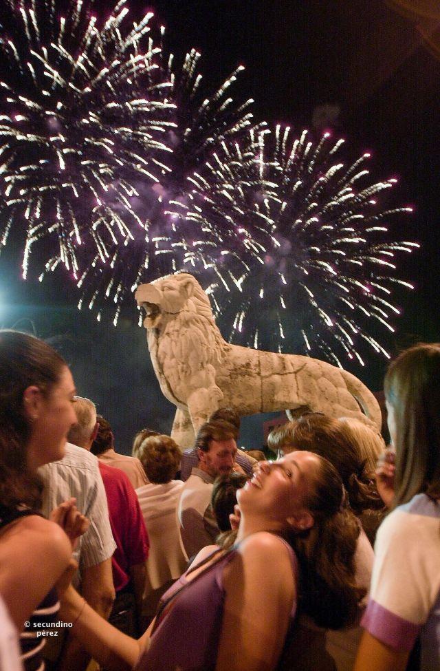 San Juan 2000 fuegos artificiales