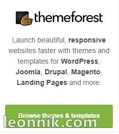 Themeforest - темы сайтов и шаблоны для WordPress, Joomla, Drupal, Magento, Landing Pages (Лендинг)