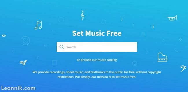 Скачать бесплатно музыку в Musopen