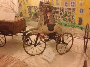 Rocking horse-bike - what a combo! (Not to be confused with the actual original hobby horse)