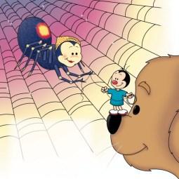 Digital illustration for a children's book