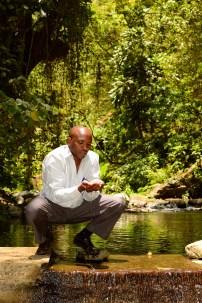 Water on Themi River, Arusha, Tanzania