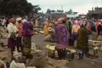 Outdoor market near Nairobi