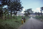 On the road to Ngoro-Ngoro crater