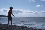 Peter on the beach
