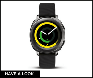 Samsung Gear Sport Smartwatch | best smartwatches