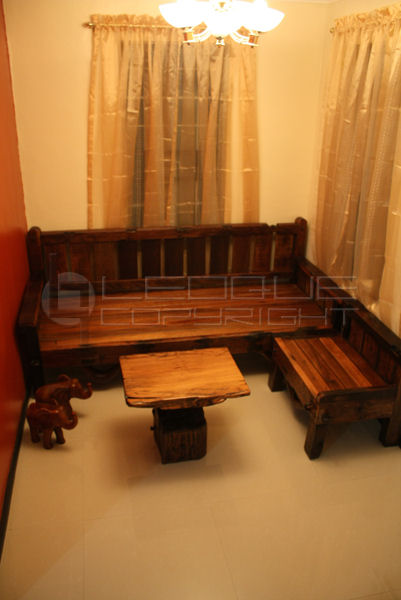 Reproduction Antique Look Set L Shaped Daybed Bench Set Center Piece Leoque Collection