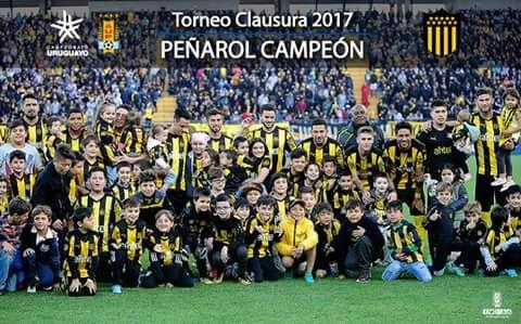 Primer Campeonato con Peñarol