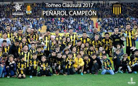 First championship victory with Peñarol.