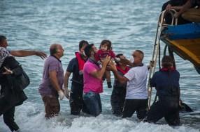 Sbarco provenienti dalla Siria e dalla Palestina a Brancaleone Marina il 30 Settembre 2013