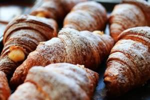 pile of croissant rolls