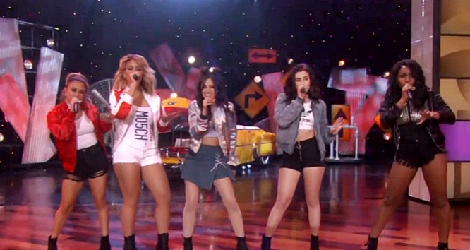 Watch Fifth Harmony Perform Work From Home on Ellen and