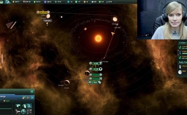 The Paradox Stellaris Youtuber War Is Too Short But