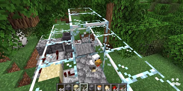 How to make a Minecraft starter base in 114 that looks