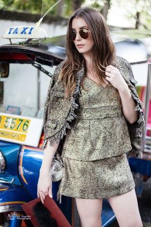 Model: Nicky Androes, styling: Pupe Pemika Thiravanitkul (Stellar Balcony)
