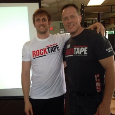 Dr. Perry Nickelston and I at RockTape FMT Level 1 & 2 Certification | April 18-19