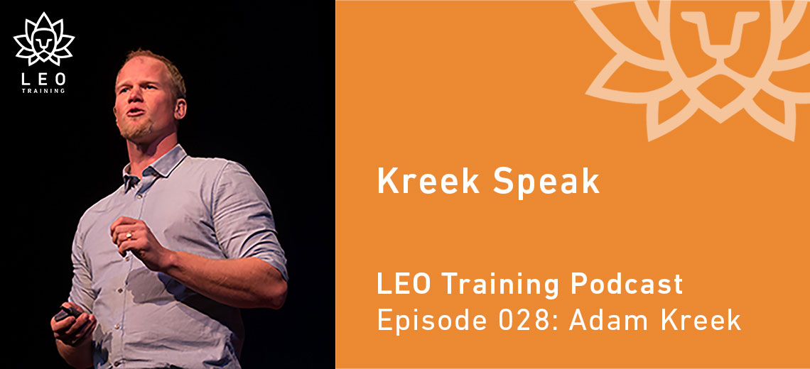 LT 028 – Adam Kreek – Kreek Speak