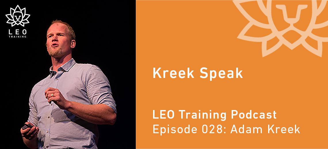 LT 028 – Adam Kreek – Kreek Speak