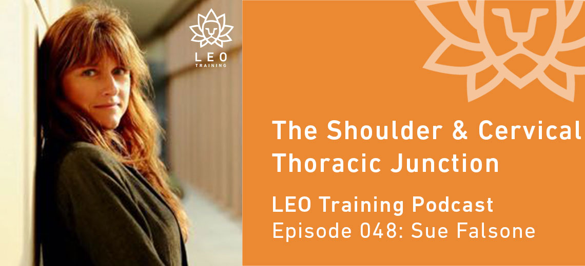 LT 048 | Sue Falsone – The Shoulder and Cervical Thoracic Junction