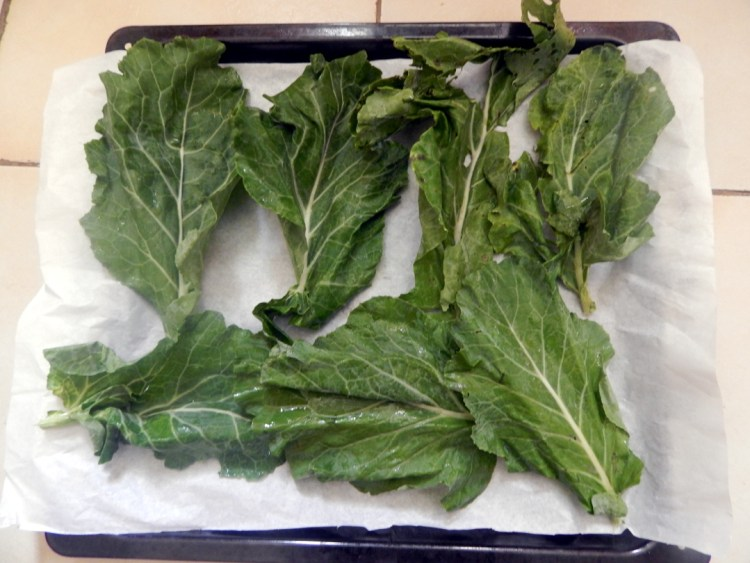 sukuma ready to be grilled